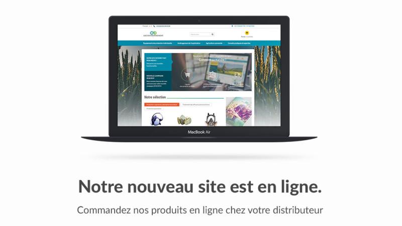 Illustration de Fonctionnement du nouveau site Axe-environnement