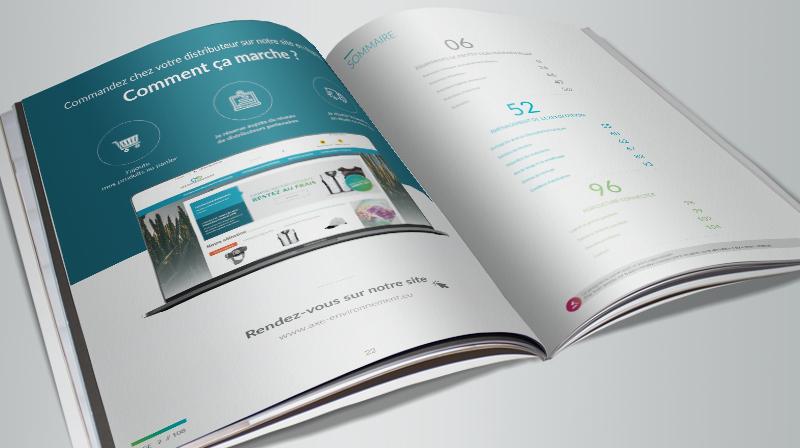 Illustration de Axe-environnement - Catalogue édition 2019-2020