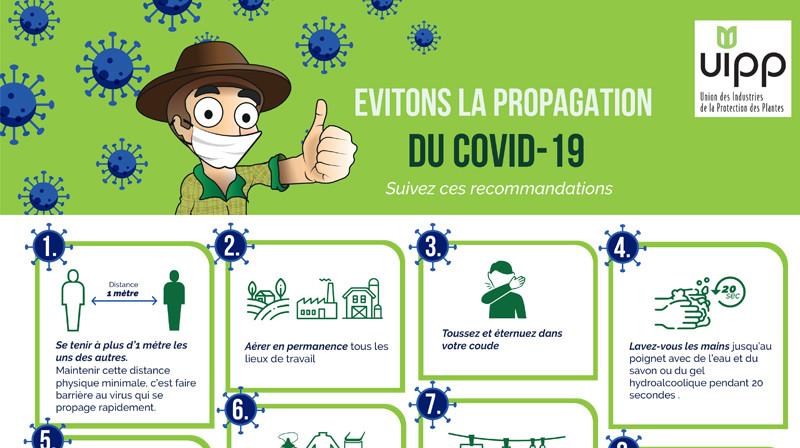 Illustration de Les gestes clé à respecter notamment dans le cadre d'une activité agricole
