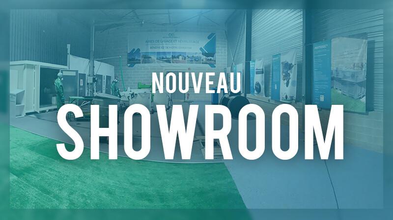 Illustration de SHOWROOM - Un espace dédié à la présentation de nos produits