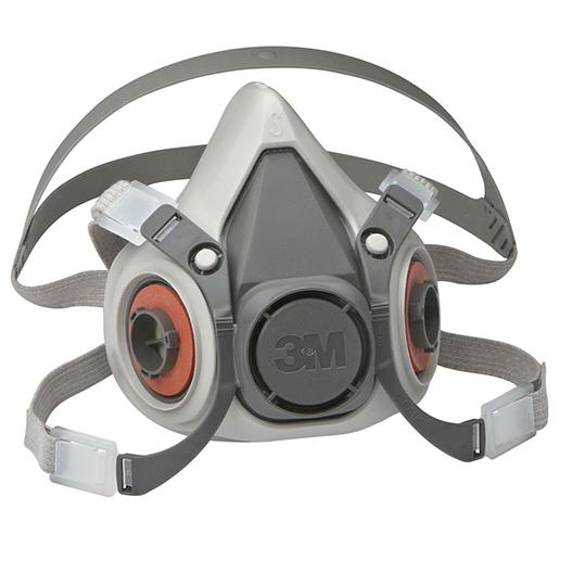 Demi masque de protection respiratoire 6200 3M™ - Sans cartouches