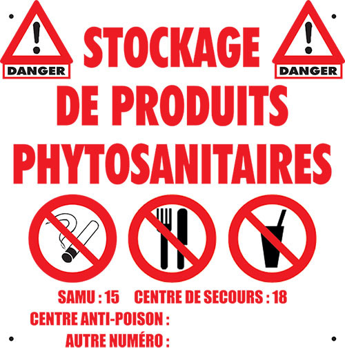 Armoire phytosanitaire 80L - EXCELA