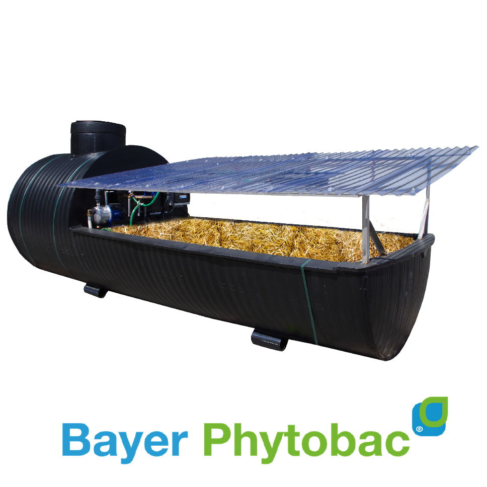 PHYTOBAC® 4,5 m² + citerne intégrée 2,5 m³