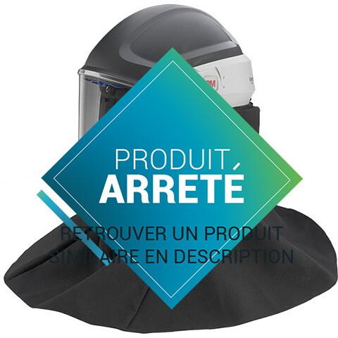 CASQUE DE SECURITE M-406 AVEC CAPE DE PROTECTION HAUTE DURABILITE
