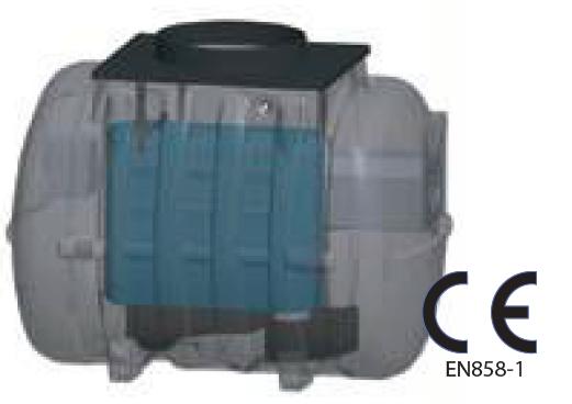 Séparateur d'hydrocarbures ECO 6 L/S - 5 MG/L SANS ALARME