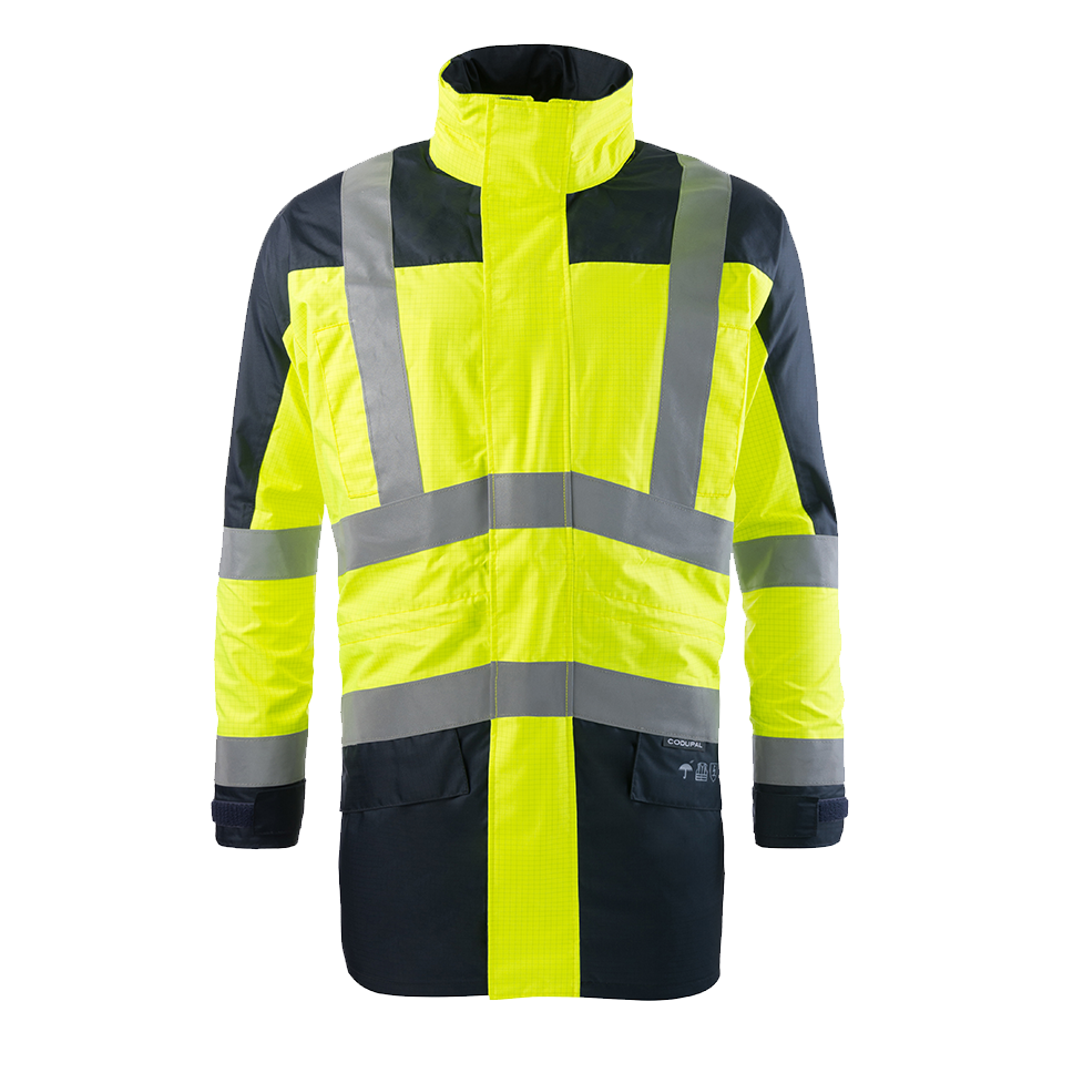PARKA MILO MULTINORMES ATEX ORANGE - TAILLE S