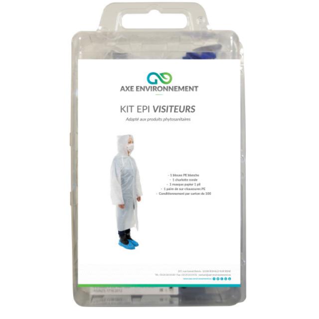 KIT VISITEUR - CARTON DE 100