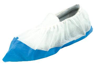 Sur-chaussures non tissé blanc