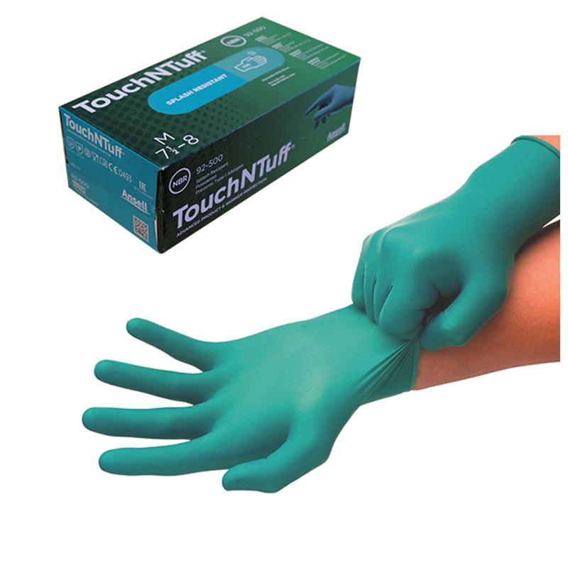 Boite de 100 gants ANSELL TOUCH N TUFF 92-500 - T.S - 6,5/7