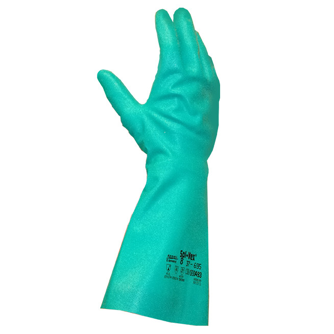 Gants de Protection phytosanitaires ANSELL Premium SOLVEX 37-695