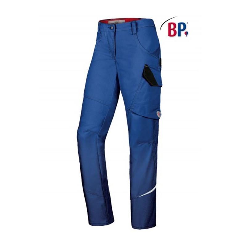 Pantalon de travail Femme BPLUS - BLEU NUIT - T.38