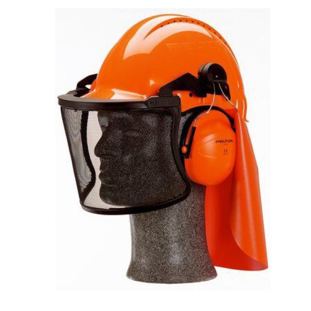 Coiffe forestière forestière avec casque 3M™ G3000