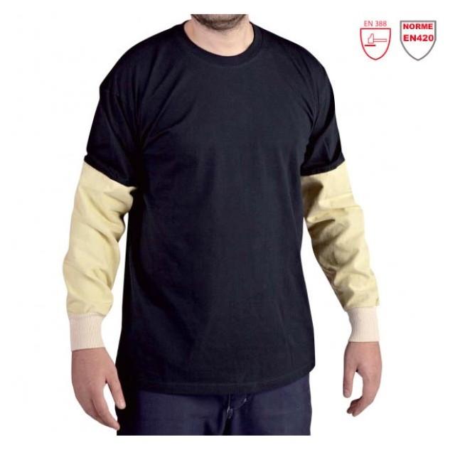 T-shirt de travail avec manches anti-coupure